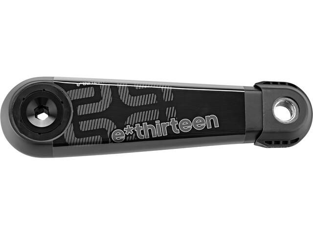 e*thirteen LG1 Race Korba 73mm z ekstraktorem korbowym, czarny